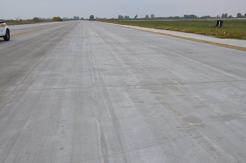 Αεροφωτογραφία του αεροδρομίου