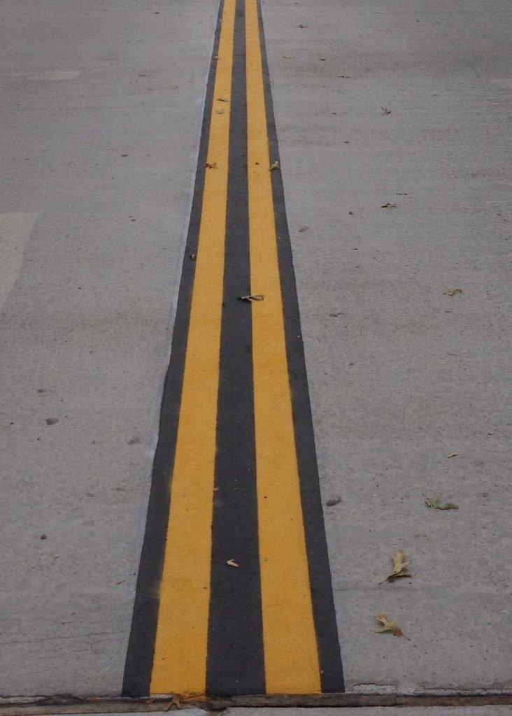 Bridge Deck Microsurfacing Installation Lines