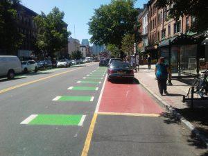 Green Bike Lanes