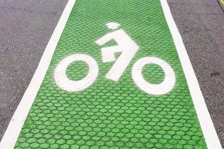 Los Angeles Green Bike Lanes