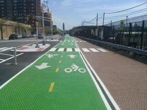 ممرات الدراجة الخضراء