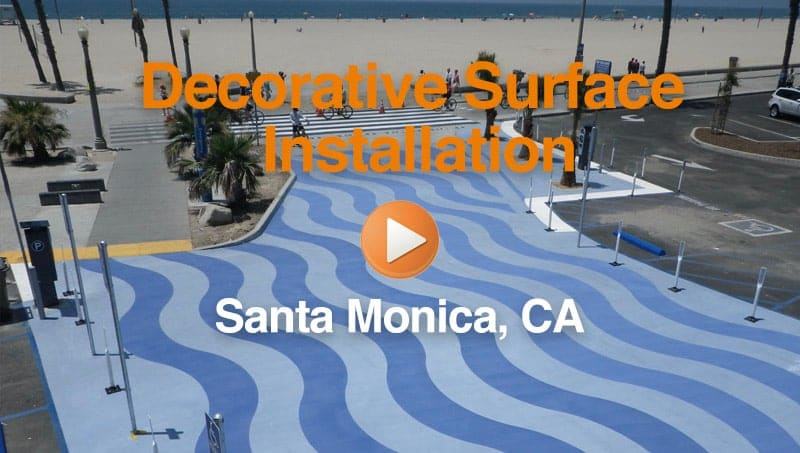 Santa Monica Decorate Surface Coating