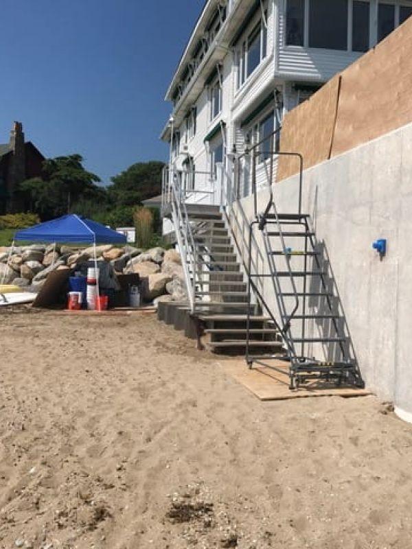 Sea Wall Resurfacing