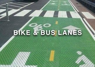 Bike-Bus-lane-marking