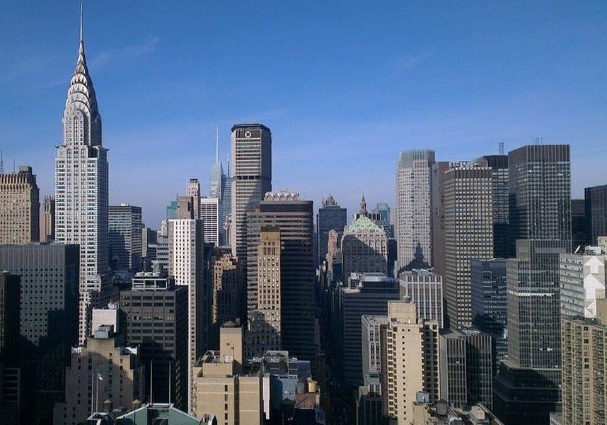 Автобусные и велосипедные дорожки Нью-Йорка
